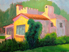 Morning Light on Cottage at Delray by Pam Ayres
