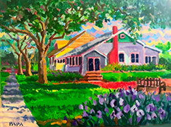Cottage at Delray by Ralph Papa