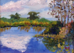 Loxahatchee Wetlands by Ruth Weiss