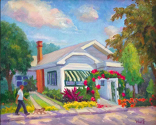 Cason Cottage at Delray Beach by Sheila Wolff