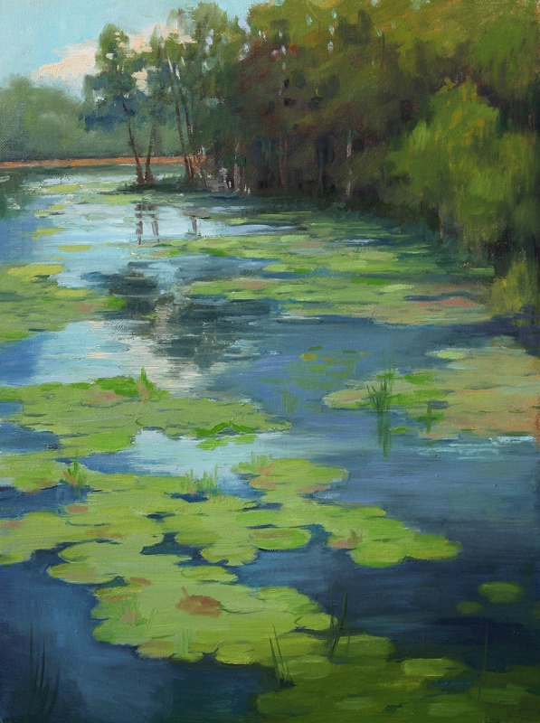 Grassy Waters by Sheila Wolff